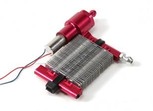 Système de refroidissement liquide w / auto Pompe de circulation et de radiateur