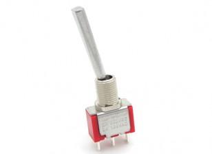FrSky remplacement Formateur Interrupteur avec Long, Basculer plat pour émetteur Taranis
