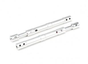 Alliage droite Oleo Struts 130mm (2pcs)