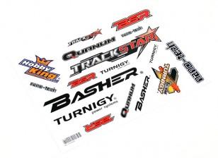HobbyKing Sticker Sheet - Voitures