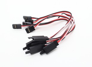 15cm Servo Lead Extention (JR) avec crochet 26AWG (5pcs / bag)