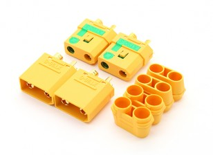 XT90-S Anti-Spark Connector (2pairs / sac)
