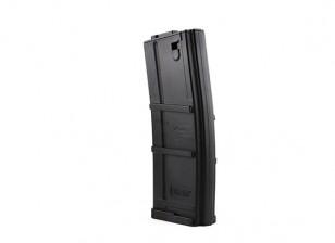 King Arms 135rounds magazines de style SIG556 pour M4 (Noir)