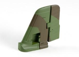 Durafly Me-163 950mm - Remplacement Assemblée Tail Rudder et Vertical