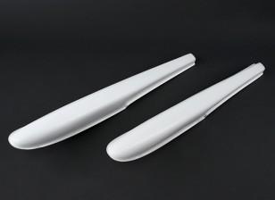 40 ~ 60 en fibre de verre de taille Float Set 840mm