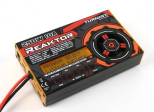 Turnigy Reaktor 250W 10A 1-6S Solde Chargeur