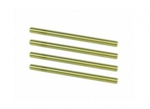 Suspension intérieure Titanium Coated Pin Set - 3Racing SAKURA FF 2014