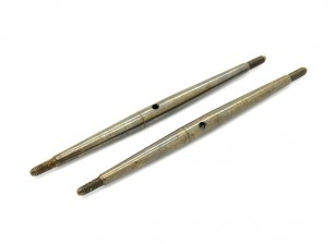 TrackStar 1/10 Spring Steel Turnbuckle M3x85 (2pcs)