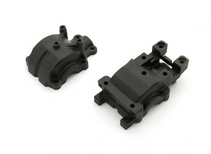 Fibre Reinforced avant Gear Box Case - BZ-444 Pro 1/10 4WD Buggy Racing