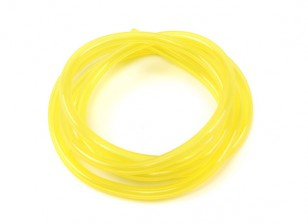 Carburant silicone jaune tuyau 2.5mm x 1mtr (Convient pour Nitro & Gas Engines)