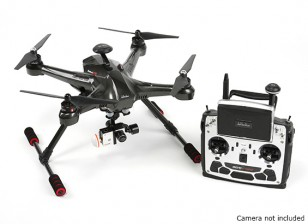 Walkera Scout X4 FPV Quadcopter avec Devo F12E, G-3D Gimbal (version GoPro) (Ready To Fly)