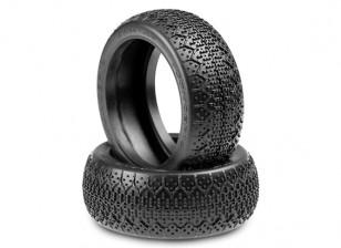 JConcepts 3Ds 1 / 8ème Buggy Tires - Bleu (Soft) composé
