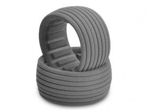 JConcepts Dirt-Tech 1 / 10ème Buggy arrière Inserts pneus - Medium / Firm
