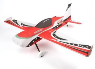 Le HobbyKing ™ 540T bord PPE / Light Contreplaqué 3D Voltige Avion 1430 mm (ARF) (Rouge)
