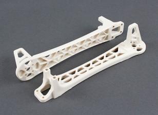 Mise à niveau des armes pour DJI Flamewheel style Multirotors V500 / H550 (Blanc) (2pcs)