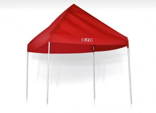 NZO 1/10 Pit Tent - Rouge