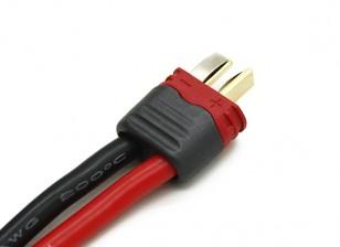 T Type de connecteur mâle avec isolation Caps (Les 10pcs)