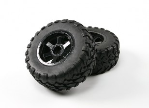 Desert Fox 2.2 SC Truck Tyre Pre-Collé (2 jeux)