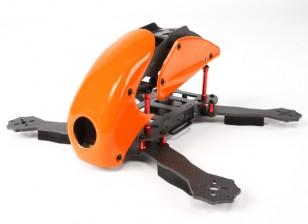HobbyKing ™ Robocat 270mm vrai Carbon Racer Quad (Orange)