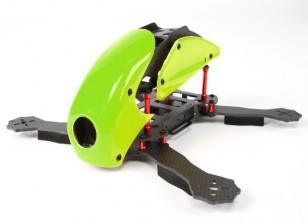 HobbyKing ™ Robocat 270mm vrai Carbon Racer Quad (Vert)