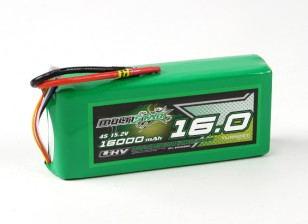 MultiStar LiHV High Capacity 16000mAh 4S 10C Multi-Rotor Lipo Pack