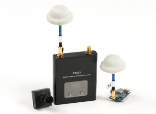 Quanum FPV Bundle Set avec 600TVL caméra, émetteur 600mW et 40CH diversité Receiver