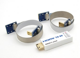 RCD 3015 Mini HDMI AV Port Converter