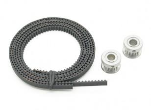 Turnigy Mini Fabrikator 3D Printer v1.0 Spare Parts - Timing Belt & Poulie