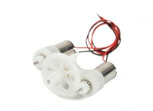 DEPS-7S HobbyKing ™ double à engrenages Système de moteur brossé