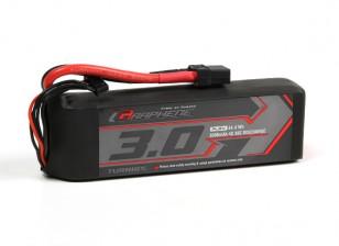 Turnigy graphène 3000mAh 4S 45C Lipo pack w / XT90