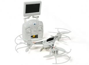 CX-33 tricopter w / 5.8Ghz Tx, moniteur, caméra HD, mode 2.4Ghz 1 / Mode 2 commutable Tx (RTF)