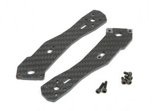Arms Tarot 3mm épais arrière pour fibre TL250H moitié carbone