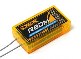 Orange R8DM 8Ch DMSS Receiver