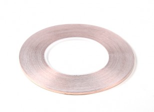 Auto-adhésif cuivre Ruban 0,09 x 3mm (50mètres)
