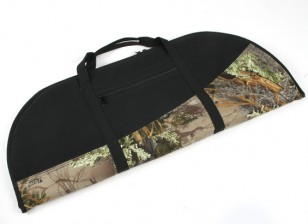 Padded Recurve Bow Bag - Woodland Camo / Noir