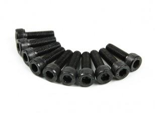 Métal Socket Head Machine Vis hexagonale M5x16-10pcs / set