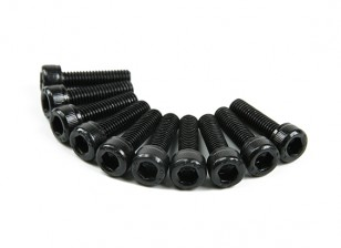 Métal Socket Head Machine Vis hexagonale M5x18-10pcs / set