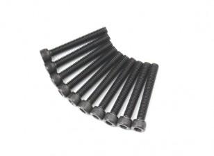 Métal Socket Head Machine Vis hexagonale M5x36-10pcs / set