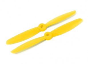 HobbyKing 5040 GRP / Nylon jaune CW / CCW Set
