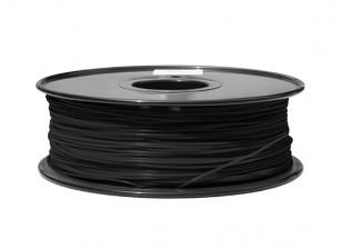 HobbyKing 3D Filament imprimante 1.75mm ABS 1KG Spool (Noir)