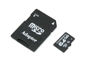 Turnigy 64Go carte Micro SD Class 10 mémoire (1pc)