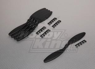 GWS style slowfly Hélice 9x3.8 Noir (CCW) (5pcs)