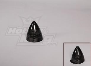 Carbon Fiber Spinner 102mm / 4po diamètre