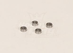 HK600GT roulements à billes Pack (10x4x5mm) (4pcs / sac)