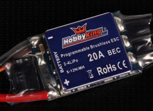 HobbyKing 20A BlueSeries Brushless Speed Controller