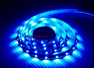Turnigy haute densité R / C LED Flexible Strip-Bleu (1mtr)