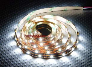 Turnigy haute densité R / C LED Flexible Strip-Blanc (1mtr)