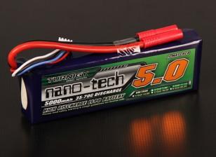 Turnigy nano-tech 5000mAh 3S 35 ~ 70C Lipo Paquet