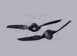Folding Propeller W / Hub 10x6 40mm / Shaft 4.0mm (2pcs)