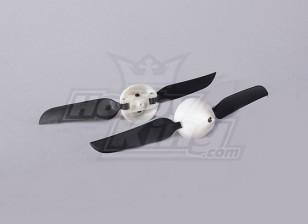 Folding Propeller W / Hub 18mm / 2mm 5.1x3.1 de l'arbre (2pcs)